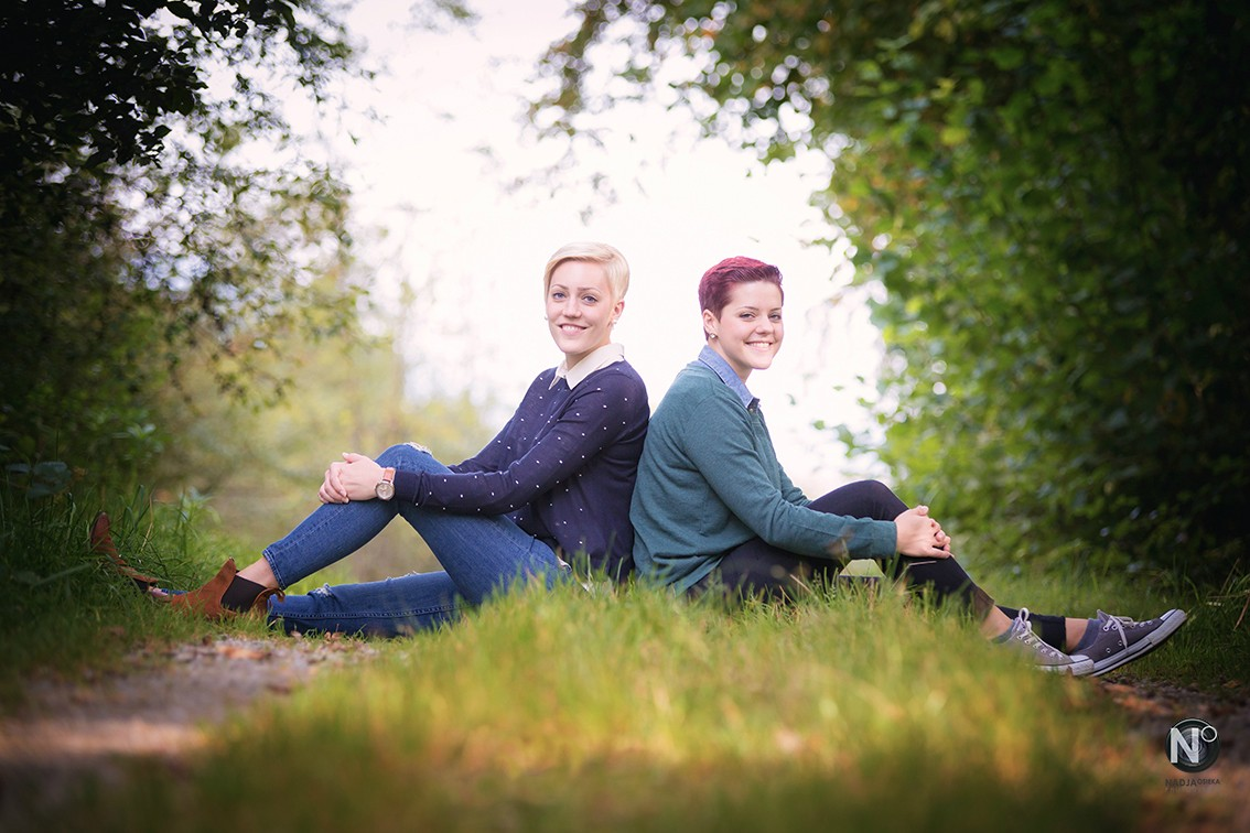 Fotoshooting im Herbst im Landkreis Loerrach Portraitaufnahmen
