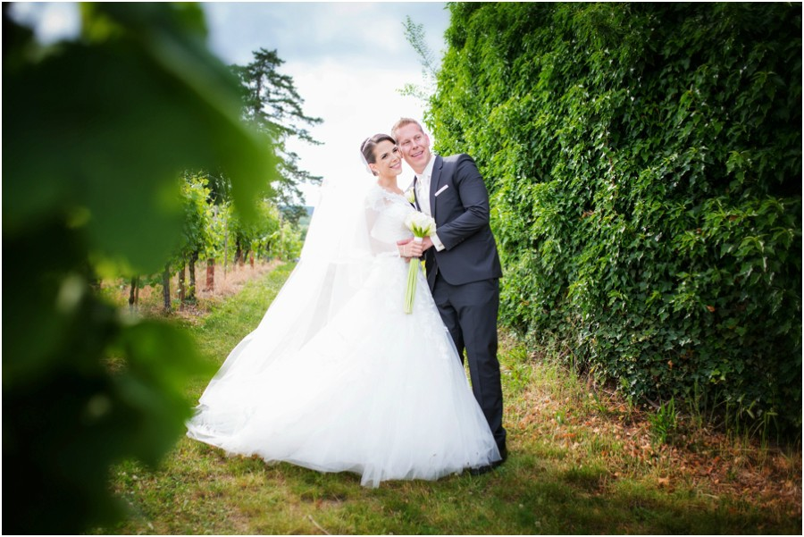 Brautpaarshooting Weinreben