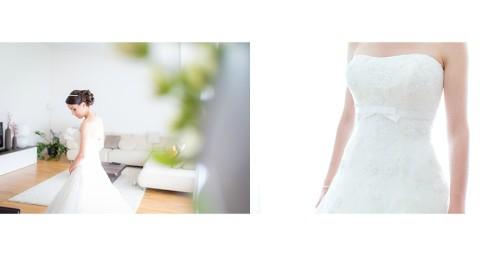 Braut Detailfoto Hochzeit