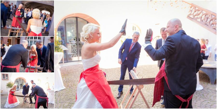 Baumsägen Hochzeit Rheinfelden