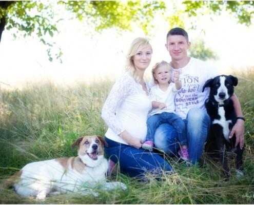 Familienfoto Nadja Osieka