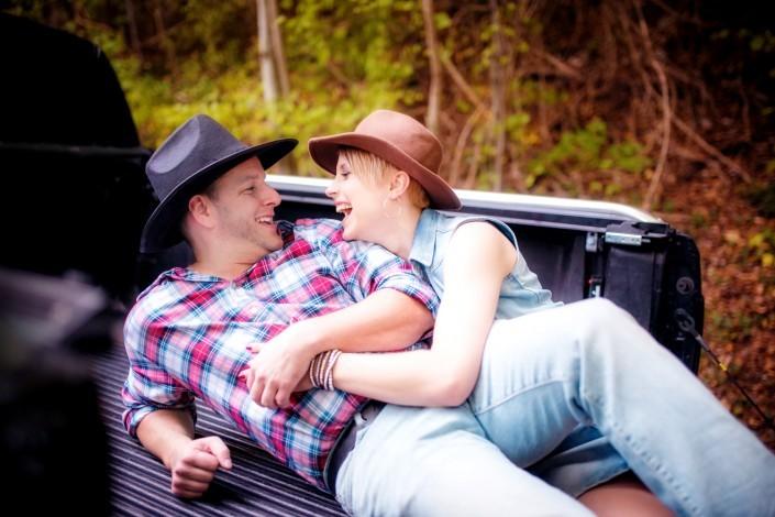Fotoshooting Verlobung Countryshooting