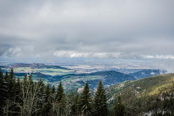 Landschaftsaufnahme Schauinsland Freiburg