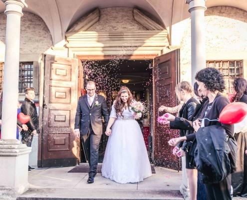 Orthodoxe Hochzeit und Taufe bei Luzern