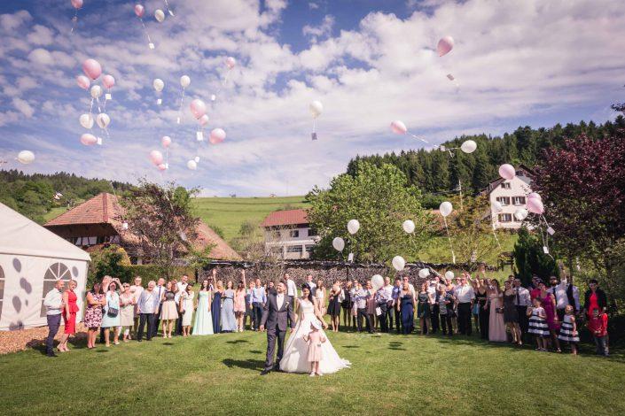 Hochzeit im fröhlichen Landmann