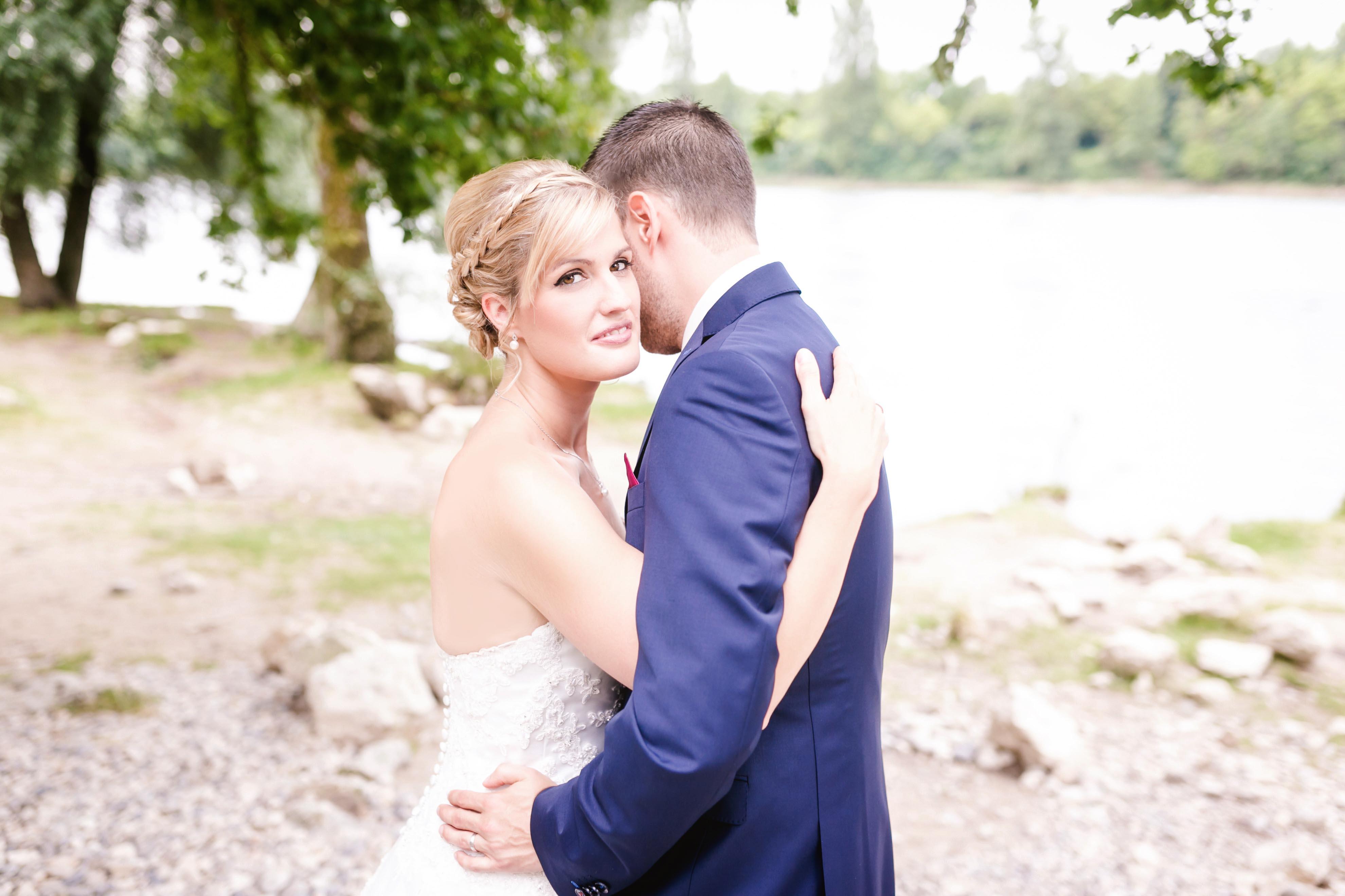 Brautpaarshooting am Rhein Istein