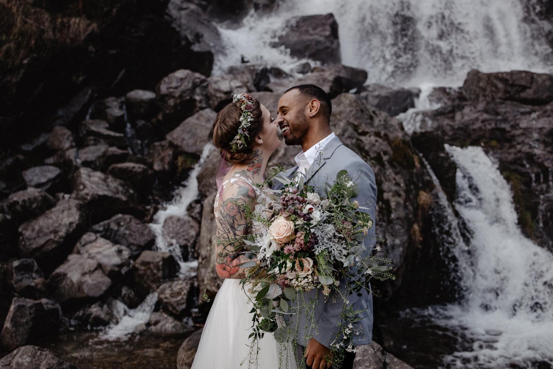 Hochzeit am Wasserfall Schwarzwald