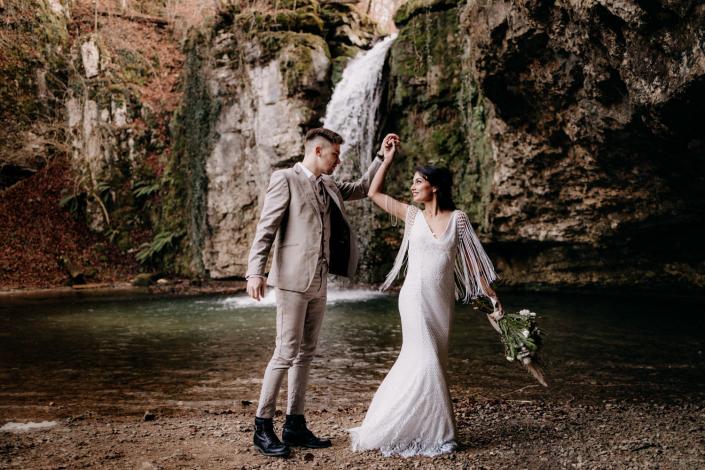 Braut beim Afterwedding