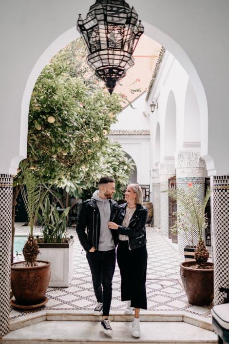 Paarshooting in Marrakesch