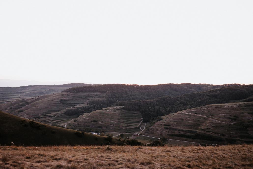 Ausblick über den Kaiserstuhl