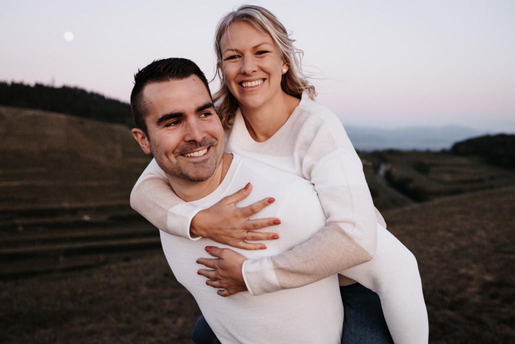 Verlobungsshooting Kaiserstuhl