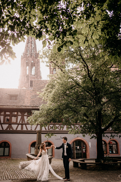 Münster Freiburg Hochzeit
