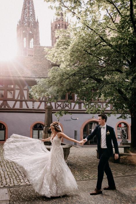 Münster Freiburg Brautpaarshooting