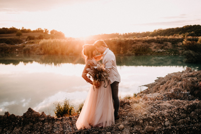 Brautpaarshooting Küssaberg