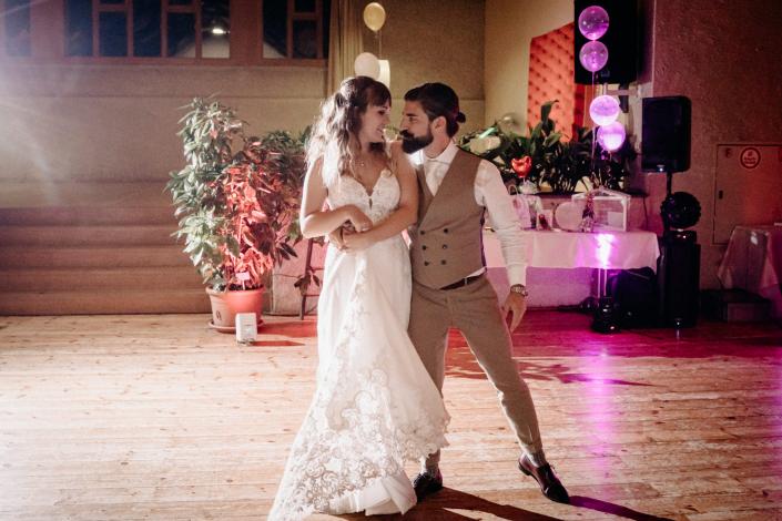 Brautpaartanz Holzsaal Basel