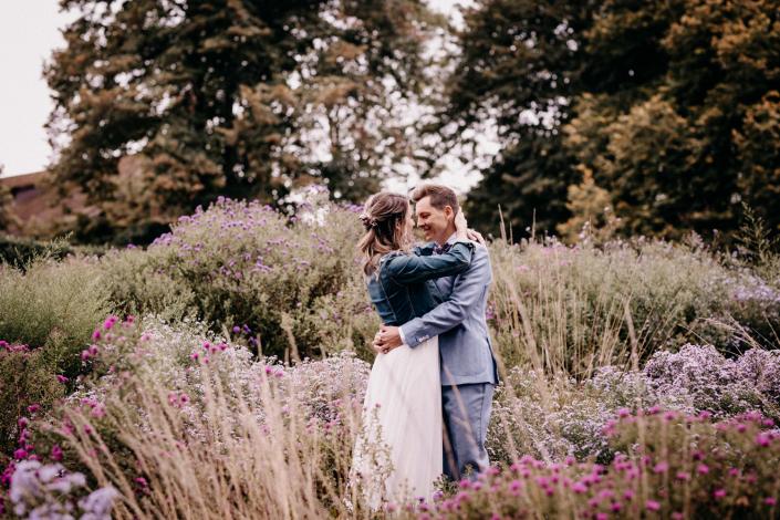 Brautpaarshooting Merian Gärten Basel