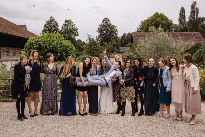 Gruppenbild Hochzeit
