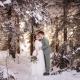 Heiraten im Schnee im Schwarzwald
